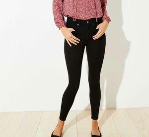 LOFT Vintage Black Legging Skinny Jeans
